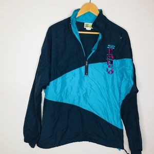 Vintage UMBRO Pull Over Wind Breaker Jacket 90's
